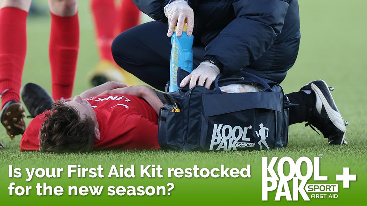 Koolpak football first aid