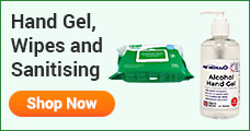 hand gel wipes and sanitising