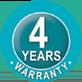 4 year warranty