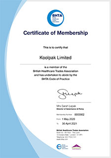 BHTA Certificate