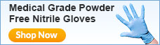 Medical Grade Nitrile Gloves