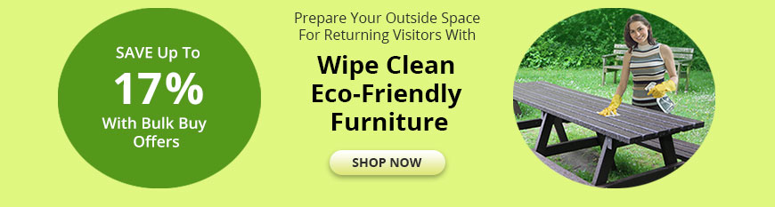 eco-friendly outdoor furniture offer