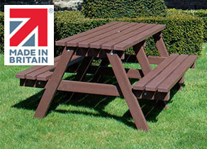 NBB Made In Britain picnic table