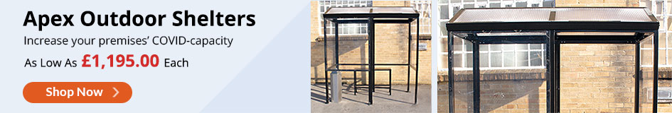 Apex 4-Sided Smoking Shelter