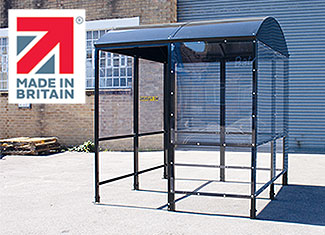 Shelters4Less Made In Britain smoking shelter