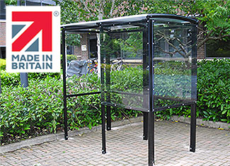 Shelters4Less Made In Britain cycle shelter
