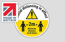 S4L Made In Britain sign